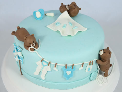 Babyparty Torte Junge